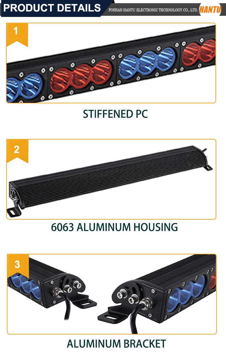 8.9 inch 30W single row led light bar