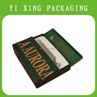 2015 YiXing antique recycled decorative perfume box with wood gift set wholesale