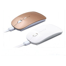 Factory price 2.4G wireless promotion gift bulk types of computer Rechargeable mouse, mice