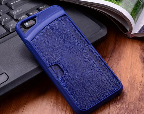 Genuine Leather Vertical Cover Phone Case For iPhone
