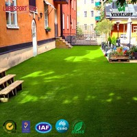 VIVATURF Manufacturer Direct Sell Anti-UV Fake Turf Garden Landscape Synthetic Artificial Lawn Grass