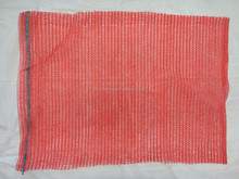 Red 30kg 45x75 raschel bags used for packing onion