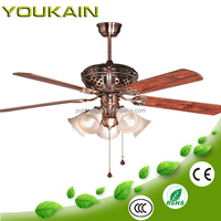 60 inch high speed big wind ceiling fan with pull chain switch
