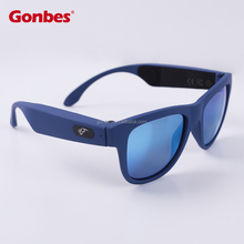 Amazing Bone conduction sunglasses with polarized lens Bluetooth 4.0