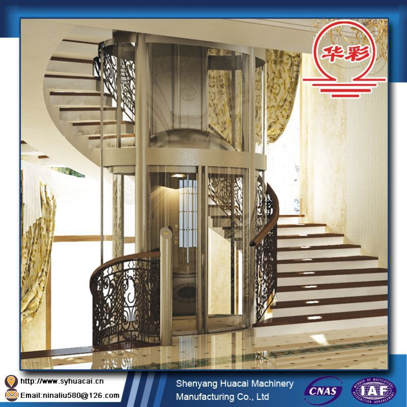HC-320 Factory price hyundai residential 1.0m/s ISO elevator 1 floor