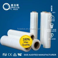 Thick plastic roll transparent PEshrink wrap stretch film