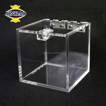JINBAO clear mini acrylic candy box display box plastic storage box bin