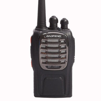 Baofeng BF-758A with 6W Hand held two way radio for walkie talkie from china