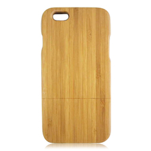 Good Design Real Wood Case, Carbonized Bamboo Wood Cover For Iphone 6 6Plus