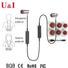 OEM & ODM Best BT Earbuds For Iphone 5 pull apart to switch on