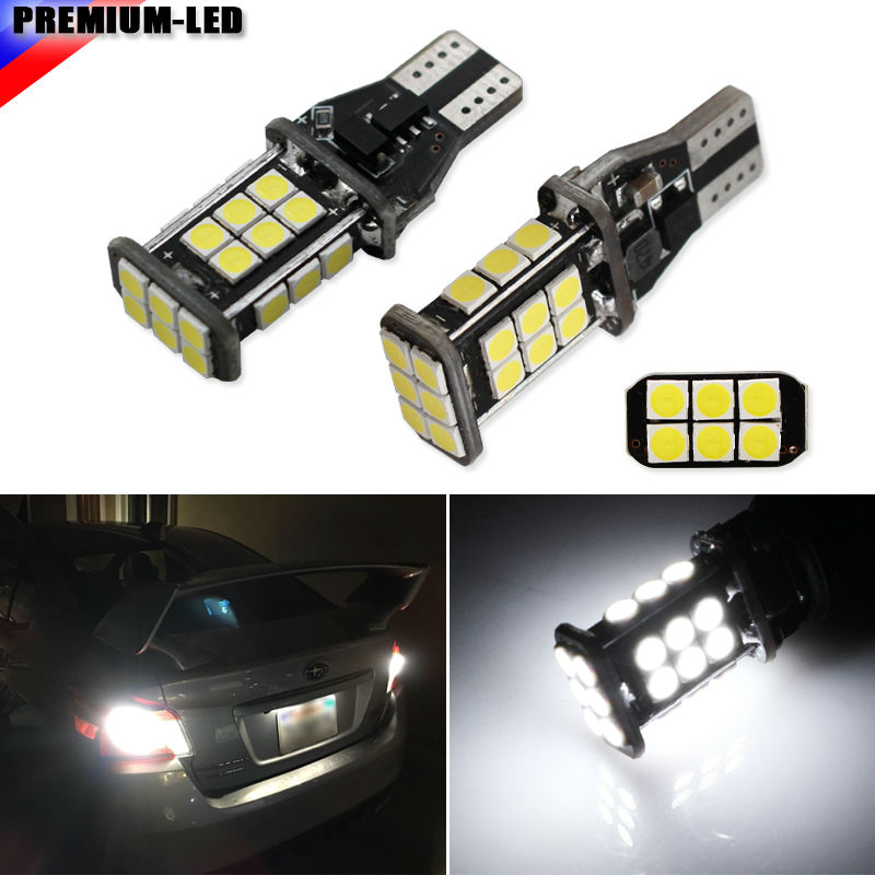 High Power Canbus SMD3030 912 921 T15 W16W Car LED Back-up Light Auto Reverse Lamp Bulb