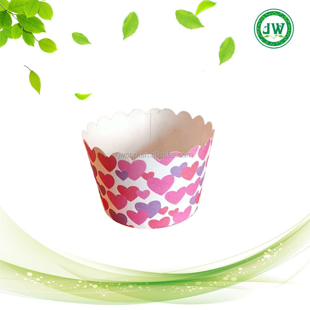 heart Cupcake Liner Baking Cup Cake Paper Muffin Cases Cake Box Cup Tray Cake Mold Decorating Tools