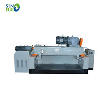 Heavy duty hydraulic wood log debarking rounding machine for veneer peeling line