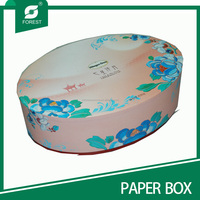 Custom printed paper round cardboard box wholesale for chocolate packaging