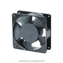Industrial quiet cooling ac axial fan