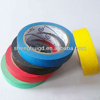 Colorful self ashesive automotive paper masking tape