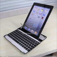 ACC4S Made In China Aluminum Bluetooth Keyboard For Apple Ipad 2 P-iPAD2HCKBSO002