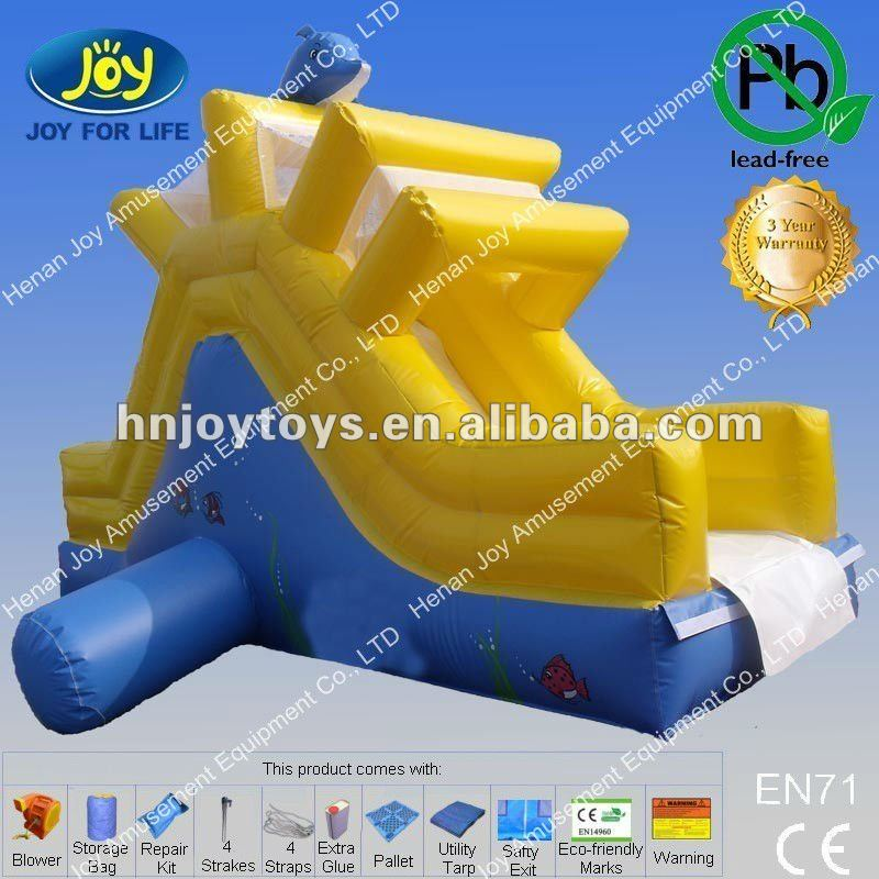 HOT ,inflatale aqua slide in 2017 with CE
