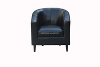 Europe style fabric/PU tub chair for living room office reception