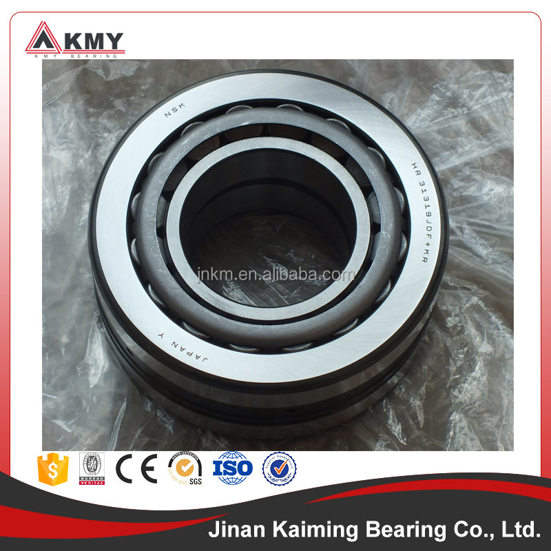 NSK bearings Tapered roller bearing 31319 with size 95x200x45
