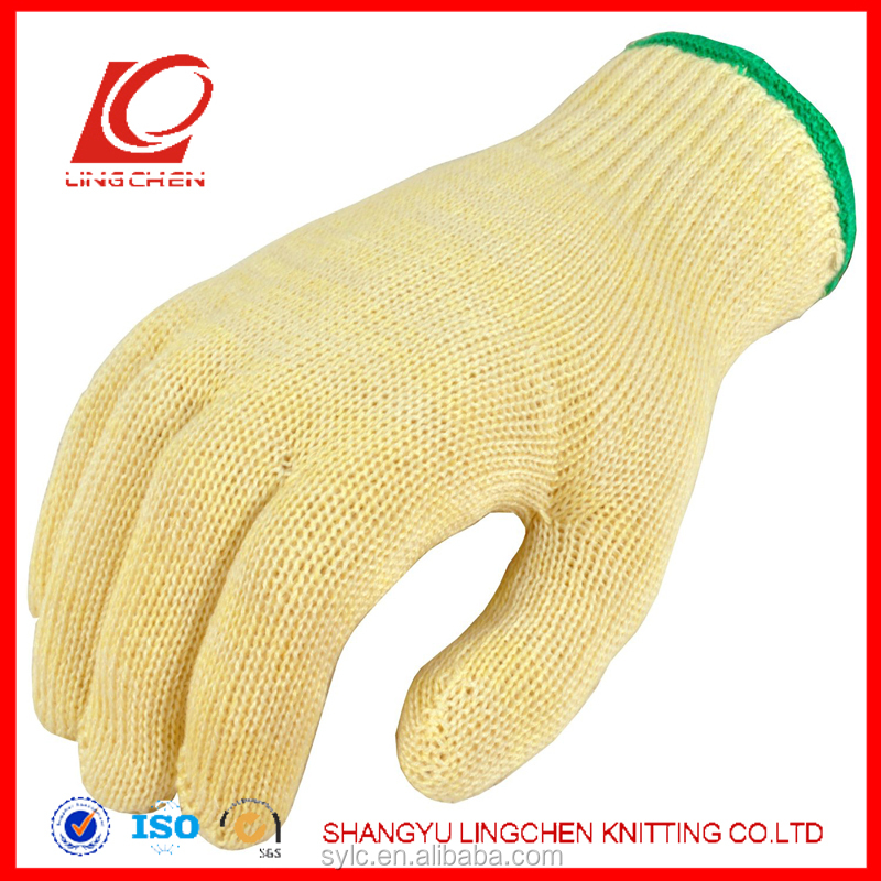 aramid heat and cut and chemical resistant gloves