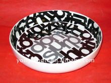 YF13016 ceramic plates for pizza ovens
