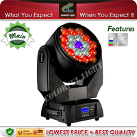 Versatile 19x15w RGBW 4in1 Beam Wash LED Moving Head Zoom