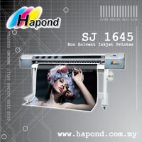 Eco Solvent Inkjet Printer - SJ 1645