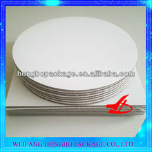 waxed cardboard cake boards for cake decorating pizza pad