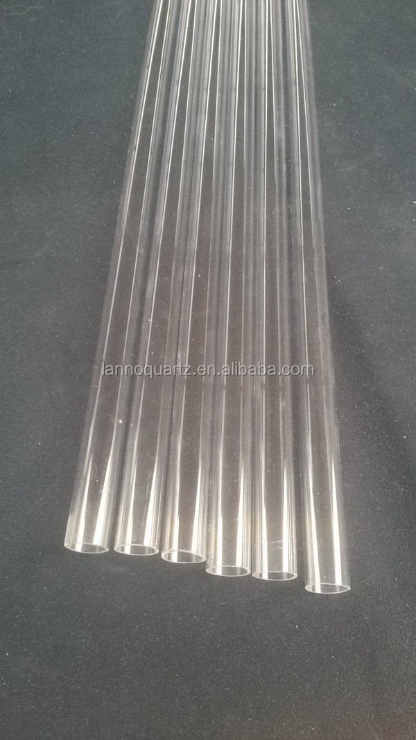 Durable hot sale different types of quartz tube