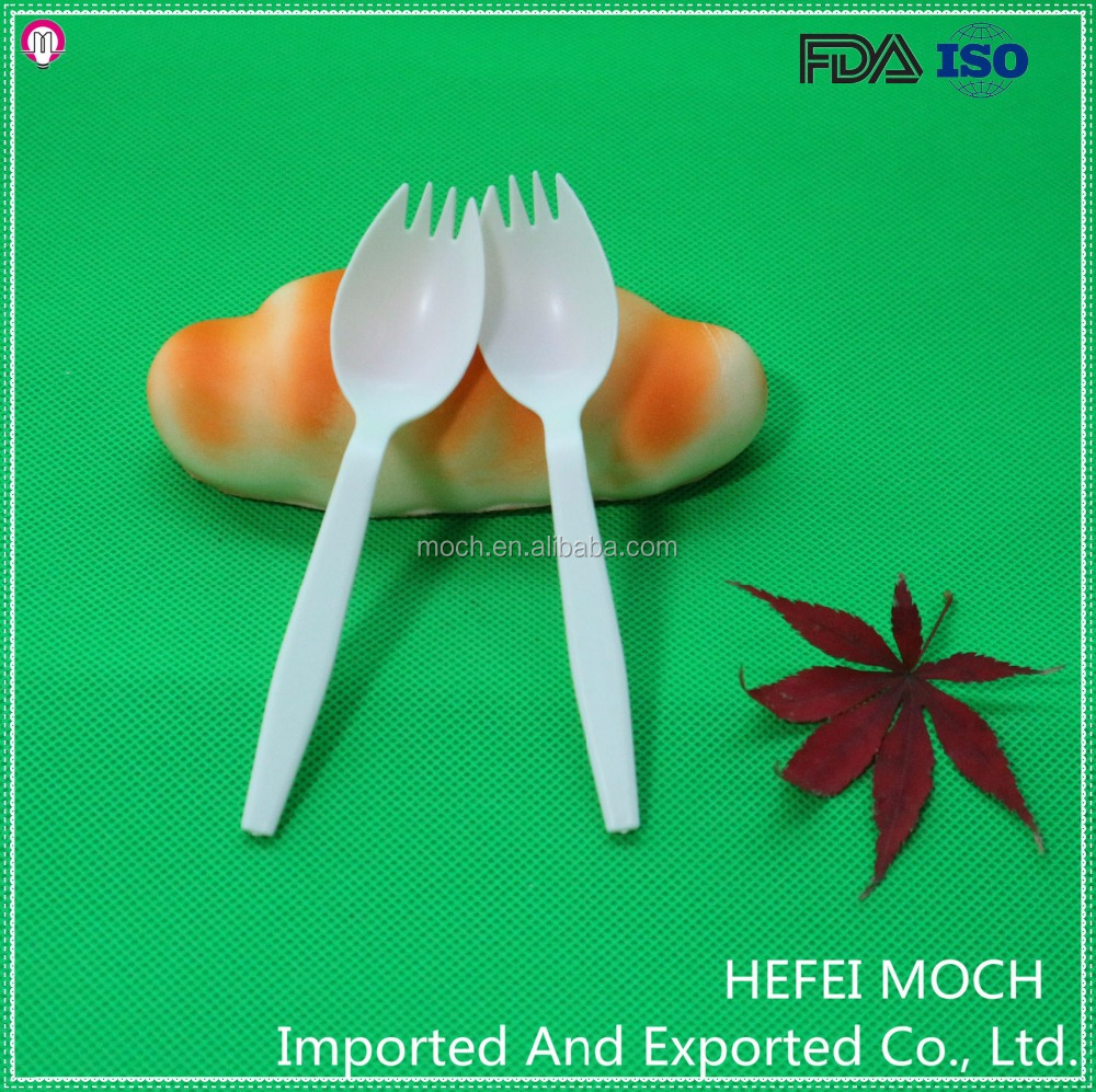 Biodegradable Recycle Plastic Cutlery for Promotion