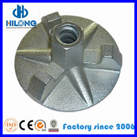 Formwork ductile iron wing nut dw15 for concrete formwork