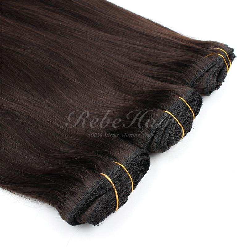 Wholesale 7A hair jessica simpson 25 layered straight clip in hair extensions rebehair