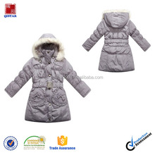 Big Girls' Winter Padding Down Jacket With Hooded