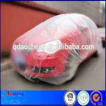 Clear plastic PE film disposable car cloth car cover auto covers