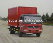 China luxury 3ton van dry cargo box truck