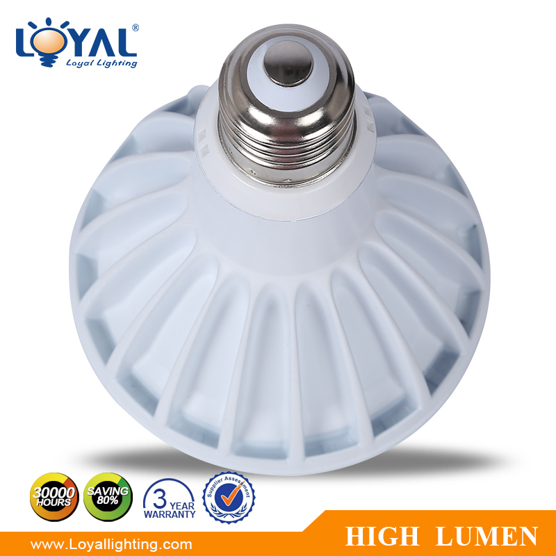 IP20 High efficiency aluminum bridgelux cob 9w e27 led par light