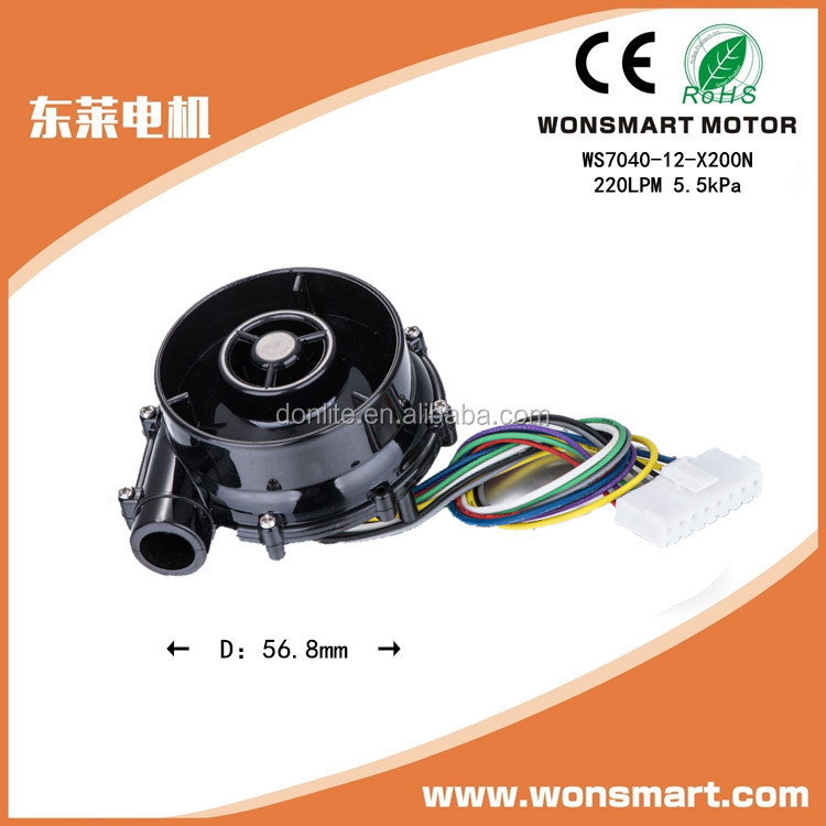 12v dc electric air blower with 6 kpa high pressure