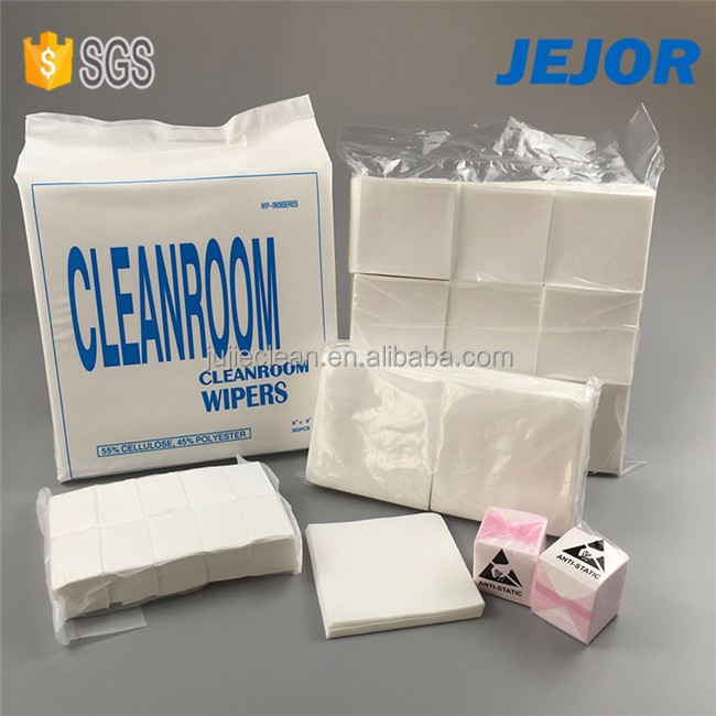 55 woodpulp 45 polyester 0609 nonwoven wipes for clean room