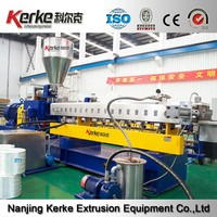 CE Lab Plastic granules machine parallel co-rotating twin screw extruder price