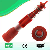Conveyor plastic bottle gripper