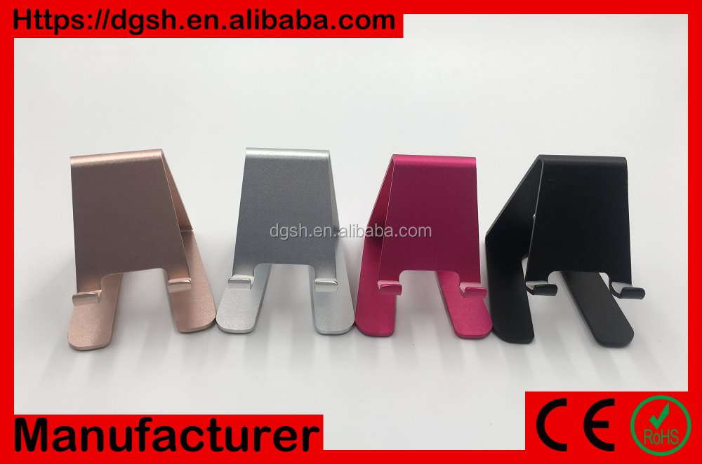 High quality aluminum alloy mobile phone table holder