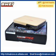 Full HD TOCOMFREE S989 TWIN Tuner DVB-S2 IKS+SKS+ IPTV Satellite receiver south american,better azamerica s1001,s929plus