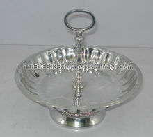 Polished Aluminium bowl decorative bowl aluminium sheet metal bowl