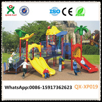 Daycare furniture and supplies play school equipments inclusive playground equipment QX-XP019
