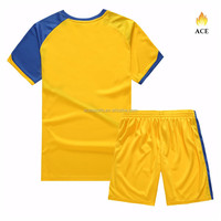 Sublimated 2017 New Team and Club Design Soccer Uniform/ cheap School Kid soccer jerseys