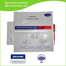 One Step Rapid Diagnostic Toxo/ IgM/IgG Test with factory low price and good quality
