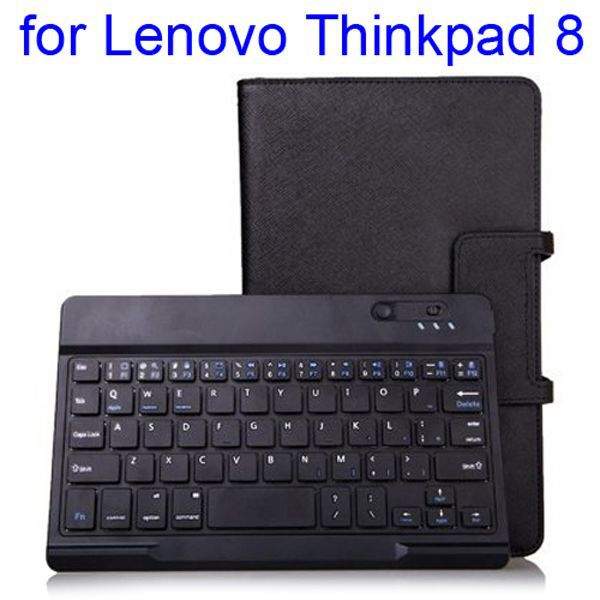 New Arrival with Flip Stand Keyboard Leather Case for Lenovo Thinkpad 8