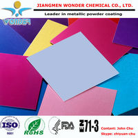 2015 hot sale spray paint RAL color metal sheet electrostatic powder coating