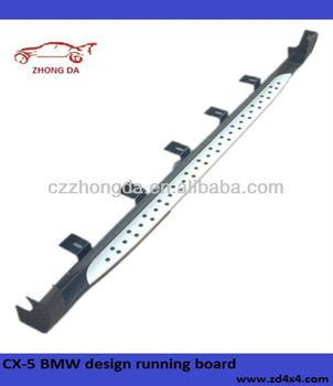 2013 Mazda CX-5 side step bar/running board,foot plate auto tuning parts for CX-5